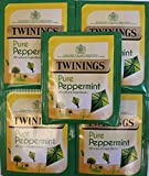20 x Twinings Pure Peppermint ~ Enveloped & Tagged Tea Bags