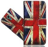 Wiko Tommy 2 Handy Tasche, FoneExpert® Wallet Hülle Vintage Cover Hüllen Etui Hülle Ledertasche Lederhülle Schutzhülle Für Wiko Tommy 2