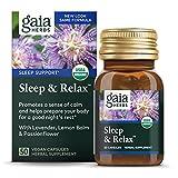 Gaia Herbs, Sleep & Relax, Sleep Support, Non...