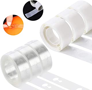 KIMCOME Balloon Decoration Strip Kit for Arch Garland, 48FT Balloon Tape Strip, 300 Dot Glue Point Stickers, Suitable for Party Wedding Birthday Baby Shower and Any Special Occasion