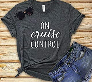 on cruise control cruise tshirt shirt womens summer shirt sun shirt sun tank beach tank ocean beach vacation summer birthday gift