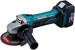 Makita DGA452RMJ 18V Li-Ion LXT 115mm Angle Grinder Complete with 2 x 4.0 Ah Li-Ion Batteries and Charger Supplied in A Ma...