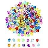 hocadon 270 Unids Piedras Decoracion Diamantes Falsos, Gemas De Plastico Irregular, Joyas del Tesoro del Pirata para la Decoración del Hogar, Bodas, Decor de Mesa, Relleno Jarrones