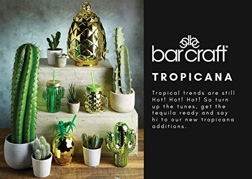 Kitchencraft Barcraft – Tropical Chic cristal piña dispensador de