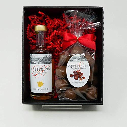Schokolade und Schnaps Geschenkset