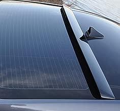 LIGHTKOREA Rear Roof Top Spoiler Glossy Black For Hyundai Genesis G80 2015 2016 2017 2018