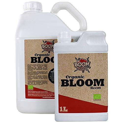 Boom Nutrients | Abono orgánico de Floración/Fertilizante para plantas/Abono líquido para flores | Organic Bloom (1L)