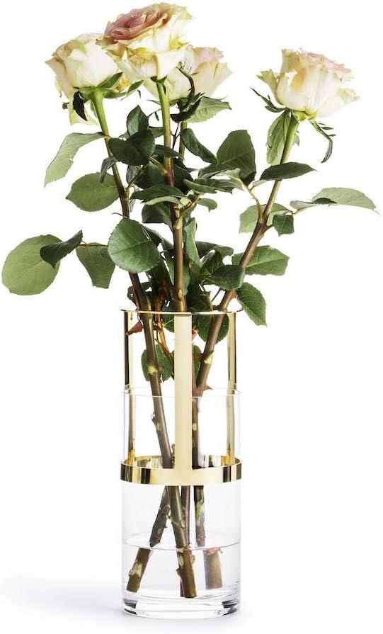 Award-winning store Sagaform Designer In a popularity Adjustable Glass Vase 9 7 Gold 8