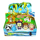 Original Cute Animal LED Keychains with Sound Effects (5 Pack) by GlobalCareMarket (Lovely 5 Pack)