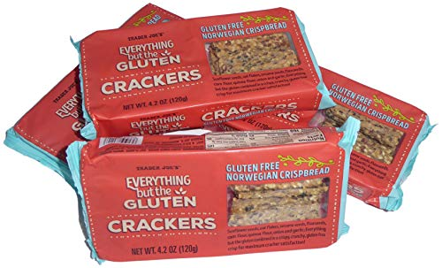 Trader Joe's Everything but the Gluten Crackers (3 Pack)