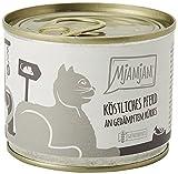 MjAMjAM - Pienso acuoso para Gatos - Delicioso Caballo con Calabaza al Vapor - Sin Cereales - 6 x 200 g