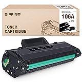 ZIPRINT (Con chip)Compatible con HP 106A Toner für HP Laser MFP 135a 135w 137fnw 135r HP Laser MFP 107a 107w 107r