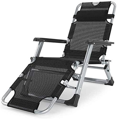 QZMX Tumbonas Tumbonas for sillas de Gravedad Cero, Ajustable Respaldo abatible Sillón reclinable, Reclinable de jardín