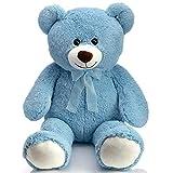 HollyHOME Teddy Bear Plush Giant Teddy Bears Stuffed Animals Teddy Bear Love 36 inch Blue