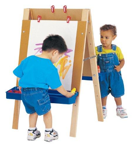 Jonti-Craft 4181JC Toddler Adjustable Easel
