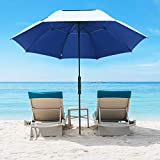 G4Free 68 Inch UV 50+ Beach Umbrella Golf Umbrella, Auto Open...
