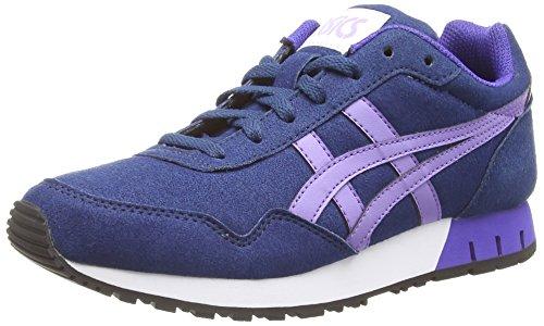 Asics Curreo, Damen Sneakers, Blau (dark Blue/aster Purple 5835), 37.5 EU