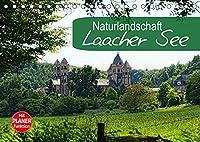 Naturlandschaft Laacher See (Tischkalender 2022 DIN A5 quer): Vulkanlandschaft in der Eifel (Geburtstagskalender, 14 Seiten )