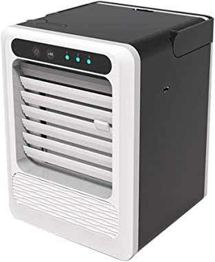 Portable Air Conditioners with Built-in Dehumidifier Function, Fan Mode, Quiet AC Unit Cools Rooms, LED Display, Complete Win