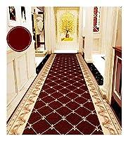 CnCnCn カーペットエントランスアイル回廊ホールノンスリップ (Color : Brown, Size : 50x300cm)