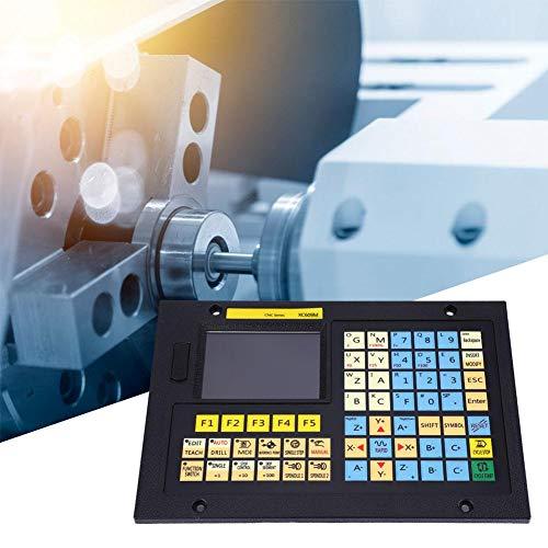 1/2/3/4/5/6 Sistema CNC Axis, XC609M Linkage CNC System Controller con juego de terminales y tornillos, multifunción, para máquinas de taladrado CNC, fresadoras, equipos automáticos,(2 ejes)