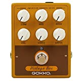 GOKKO AUDIO GK-33 Vintage Box Guitar Effects Pedal