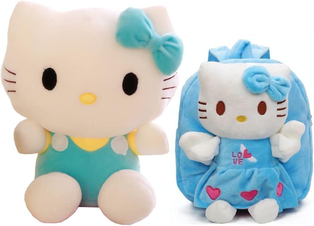 Huggable trend rank Plush Boston Mall Toys Doll Set - Kitty Must Blu Have Hello Lovers