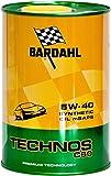 Öl Bardahl 5W40C60Technos 100% Kunststoff 1kg