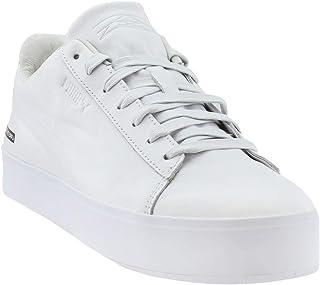 Puma Mens Black Scale Court Platform Casual Athletic & Sneakers