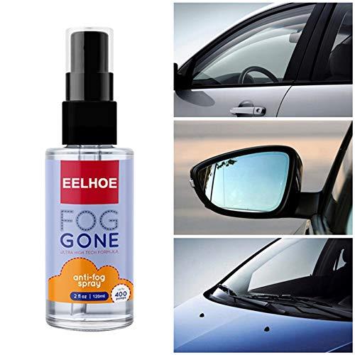 Brillen-Antibeschlag-Spray 120 ml Antibeschlagmittel- Hilft gegen Beschlagene Brille -Auto-Innenraum, Glas, Fenster, Windschutzscheibe, Antibeschlag, Defogger alle Linsen, Schwimmbrillen, Skibrillen