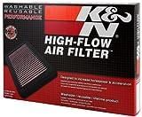 K&N 33-2975 Filtre à Air du Moteur: Haute Performance, Premium, Lavable, Filtre de Remplacement, Plus de Pouvoir, 2009-2018 (C-Elysee, Berlingo, C3, C4, C5, DS3, DS5, 4008, Expert, Partner, 2008)