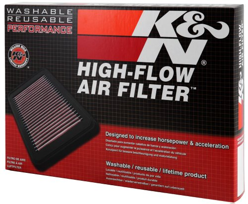 K&N Engine Air Filter: High Performance, Premium, Washable, Replacement Filter: 2006-2017 BMW (Z4, Z4 sDrive 35i, 335is, Z4 3.5 sDrive I, 1 Series M, 135i and other select models), 33-2367