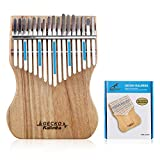 GECKO Kalimba 17 Keys Thumb Piano,Solid Campphor Wood Finger Piano with Tune Hammer and Instruction,Gifts for Kids Adult Beginners