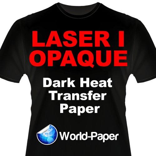 Heat Press Laser Printer Transfer Paper Dark Clr 50 Pk