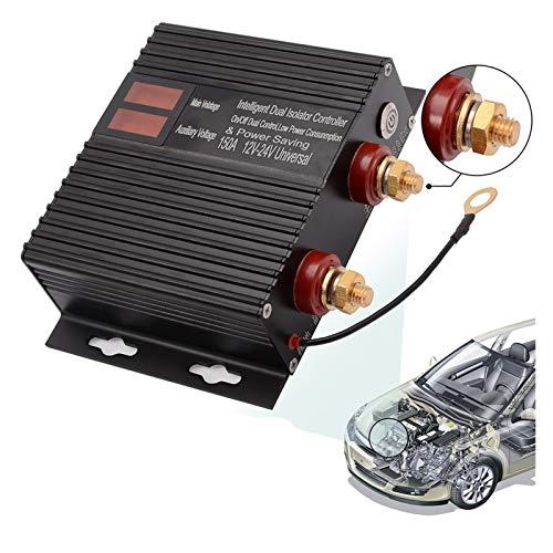 durable Relé de aislamiento de batería dual automotriz 150A 12V 24V OFF OFF COCE POWER CONTRODUCCIÓN Controlador de interruptor de batería universal Herramienta de reparación de protección Wea