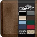 Kangaroo Original Standing Mat Kitchen Rug, Anti Fatigue Comfort Flooring, Phthalate Free, Commercial Grade Pads, Ergonomic Floor Pad for Office Stand Up Desk, 48x20, Mocha