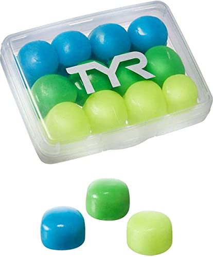 TYR Kids Soft Silicone Ear Plugs - 12 Pack (6 Pairs)