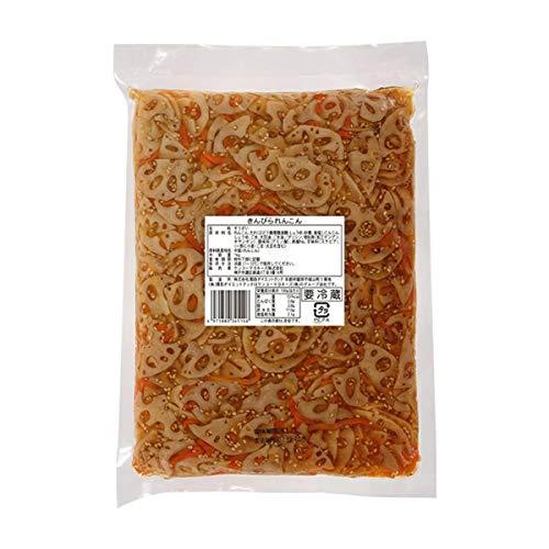 【冷蔵】 ケンコーマヨネーズ きんぴられんこん 1kg 業務用 惣菜 おかず 和食 蓮根