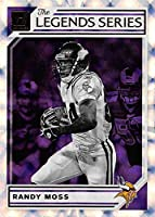 2019 Donruss Football The Legends Series #11 Randy Moss Minnesota Vikings Official NFL Panini Trading Card