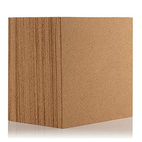 Juego de 11 placas de corcho natural para suelos/paredes