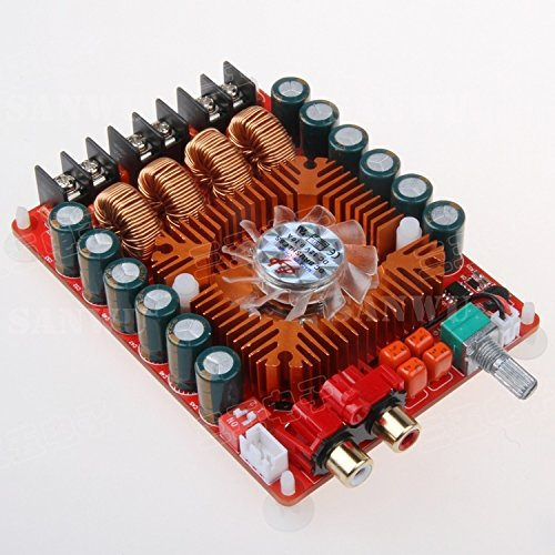 Review Diybigworld TDA7498E digital power amplifier board 2X160W stereo BTL220W single channel high ...