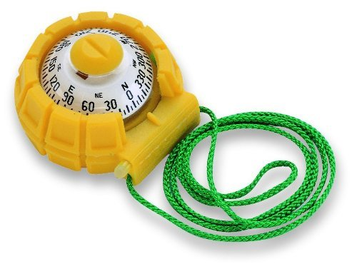 Ritchie - X-11Y Navigation 2-Inch Dial Sport Kayak Compass (Yellow) by Ritchie