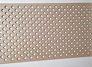 LaserKris - Mueble de Pared para radiador (Tablero D3 Perforado, 4 x 2)