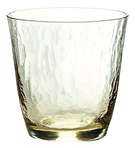 東洋佐々木ガラス『高瀬川 琥珀 オンザロックグラス』