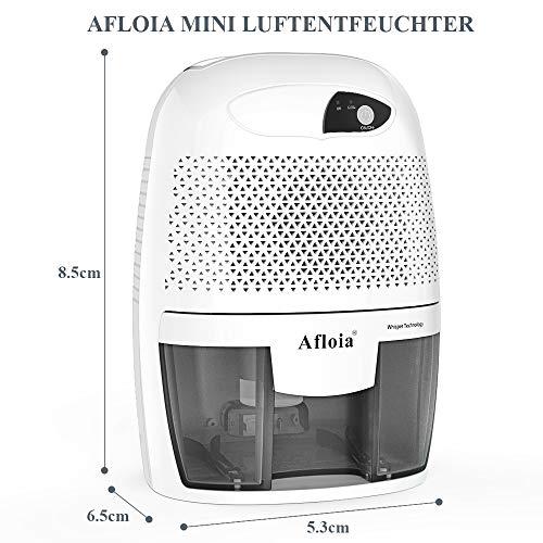 Afloia Mini Deshumidificador 500Ml Portátil Y...