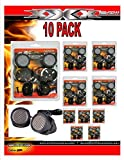 10 PACK 500w High Frequency Car Truck Stereo Super Tweeters Built-in Crossover XTC-3300