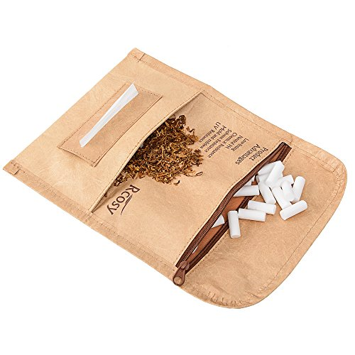 Lilily_store Rolling Tobacco Pouch - Quality Tobacco Pouch Case from Unique Tyvek Paper with Incredibly Anti-Tearing&Waterproof Feature, Unisex Tobacco Case for Daily Use