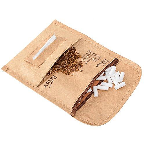 Lilily_store Tabakbeutel - Hochwertiges Tabak Etui aus einzigartigem Tyvek-Papier mit unglaublich Anti-reißen & wasserdichter Funktion, Unisex-Tabak Etui für den täglichen Gebrauch