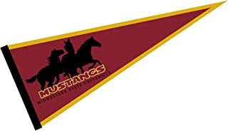 College Flags and Banners Co. Midwestern State Mustangs Pennant