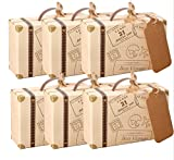 Lot de 50 pièces de mini-valise AmaJOY - idée cadeaux à offrir aux invités de...